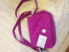 NWT Kipling Delphin ST Shoulder bag in Pink Dust - RARE!