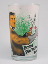 WWF World Wrestling Federation '88 Titan Sports Glass Brutus The Barber Beefcake