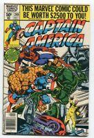 Captain AMERICA #249  CAP SMASHES THRU Marvel VF/NM THING Spiderman