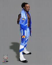 """WWE PHOTO THE NEW DAY XAVIER WOODS 8x10"""" OFFICIAL WRESTLING PROMO"""