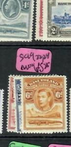 BASUTOLAND (P1609B)  KGVI CROCODILE   SG 19, 22, 24        MOG