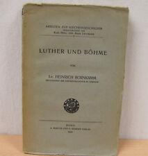 Heinrich Bornkamm, Luther und Böhme, Marcus u. Webers Verlag 1925