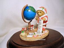 Cherished Teddies Santa Series 2007 Stanley  NIB  SIGNED