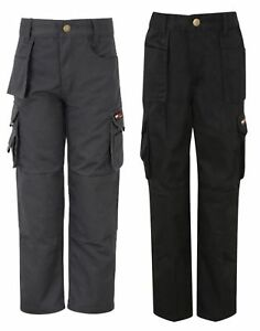 TuffStuff heavyweight polycotton junior childs kids work cargo trousers #711J