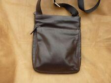 Debenhams Collection Brown Leather Messenger Bag