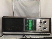 Vintage PANASONIC AM FM WEATHER Table RADIO Model RE-7273 ~ Works Great! ~