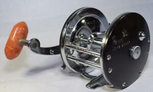 Vtg. Penn Lever Wind no.65 Long Beach Fishing Reel - Trolling/Bait Casting -Used