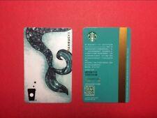 CS1760 2017 China Starbucks Coffee Siren Tail MSR Card 1pc
