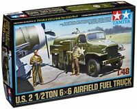 Tamiya 1/48 Military Miniature Series No.79 US Army 1/2 ton 6  6 fuel truck Mode