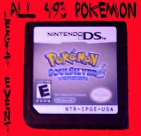 Pokemon Soulsilver LOADED all 493 + Legit Event UNLOCKED With Celebi Mew ARCEUS