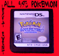 Pokemon Soulsilver LOADED all 493 + Legit Event UNLOCKED With Celebi Mew ARCEUS