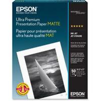 "Epson S041341 Ultra Premium Presentation Paper - 8.50"" x 11"" Sheet Size"