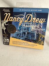 NANCY DREW 3-D INTERACTIVE MYSTERY GAME CD-ROM SOFTWARE