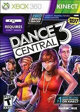NEW SEALED XBOX 360 KINECT DANCE CENTRAL 3 VIDEO GAME $3.95 USA/CANADA SHIPPING