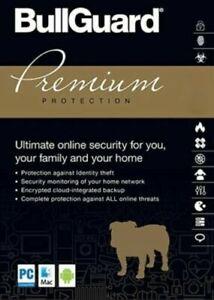 BullGuard Premium Protection 2021 Internet Security Antivirus 1 User - 3 Years