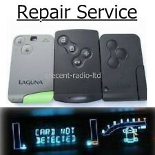 REPAIR SERVICE Renault Laguna Espace VI Vel Satis key card fob remote plip