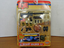"GI Joe 1/6 12""  Army Desert Soldier Accessory Set Battle Gear T39 Desert Storm"
