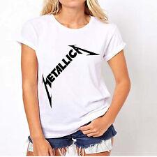 Metallica women's rock t-shirt birthday unisex day rock band Kirk Hammett