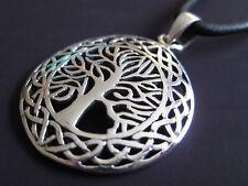 Keltisch Silber 925er Anhänger Lebensbaum+Band+Geschenkbox etNox / KA 331