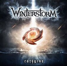 Winterstorm - Cathyron CD 2014 power metal folk Germany NoiseArt press