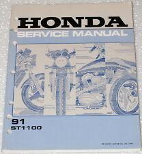 1991 HONDA ST1100 Pan-European 1100 Motorcycle Dealer Shop Service Repair Manual
