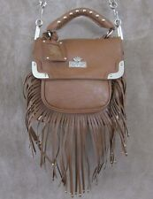 CHRISTIAN AUDIGIER Maureen Camel Brown Crossbody Messenger Handbag Purse NWT