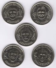 More details for 1998 the official england squad medal collection x5 | pennies2pounds