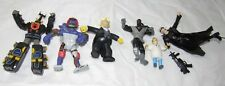 Group of 6 Loose Action Figures, Matrix, TMNT, Simpsons, Etc. ~ Free Shipping! ~