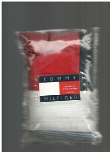 Tommy Hilfiger Red  White Blue Flag Patchwork Standard Sham  New