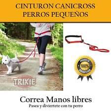 CORREA PERRO PEQUEÑO MANOS LIBRES CANICROSS FOOTING PASEO