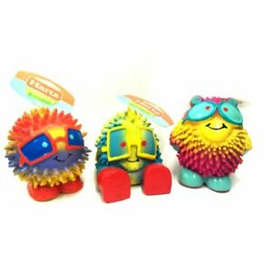 Hartz Frisky Frolic Latex Squeakable Dog Toy assorted characters 1 Count