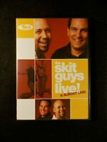 The Skit Guys Live & Almost Live (DVD, 2006)