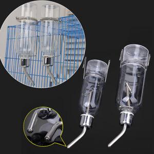 Rat Water Drinking Bottle Hamster Pet Rabbit Dispenser Cylindrical Feeder A.JJ0