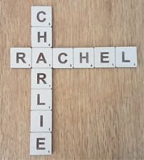 Large Wooden Scrabble Tiles, Wall Art , SOLID 4cm, 7cm, 9cm, 12cm, 21cm