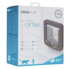 Brand New Sure Flap Microchip Cat Flap & Mounting Adaptor
