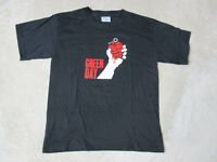 NEW Green Day American Idiot Concert Shirt Adult Large Black Band Tour Rock Mens