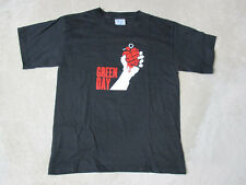 NEW Green Day American Idiot Concert Shirt Adult Large Black Band Tour Mens B