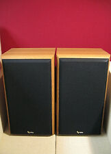 VINTAGE INFINITY REFERENCE TWO SPEAKERS 2-WAY BOOKSHELF PAIR TECHNICIAN TESTED
