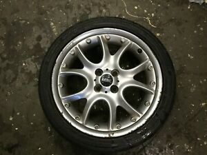"BMW Mini Cooper One S 17"" R98 2PC Web Spoke Alloy Wheel & Tyre R50 R52 R53 R56"