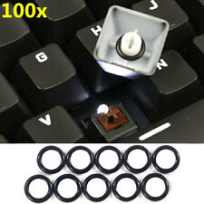 100Pcs Mechanical Keyboard Keycap Rubber O-Ring Switch Dampeners for Cherry MX