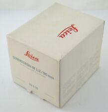 LEICA Summicron M 2/90 90 90mm F2 2 no. 3575 088 MIB wie neu OVP adapt. A7 MFT