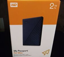 Western Digital My Passport for Mac - 2TB (WDBA2D0020BBL)
