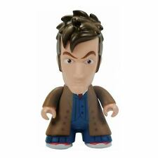 "DOCTOR WHO - 10th Doctor 6.5"" Brown Trench Vinyl Figure (Titan Merchandise) #NEW"