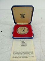 Royal Mint Proof Solid Sterling Silver Queen Elizabeth 2 1977 Jubilee Crown A28