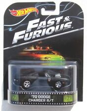 HOT WHEELS 2014 RETRO THE FAST & FURIOUS 1970 DODGE CHARGER R/T
