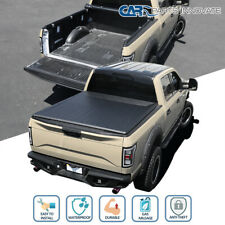 For 82-93 Chevy S10 GMC S15 Sonoma 6FT Bed Roll Up Soft Vinyl Tonneau Cover