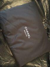 Chanel Cosmetics Travel Black Bag Make Up Case