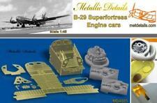 Metallic Details 1/48 Boeing B-29A Superfortresse Moteur Voitures #MD4805