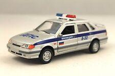 """LADA """"SAMARA"""" USSR RUSSIAN POLICE RARE Collection Model Car 1/34 scale"""
