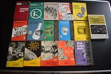 Elektrotechnik/Elektronik - Fachkunde, Buch, Konvolut, Vintage, 28 Bücher